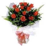 Adana çiçek , çiçekçi , çiçekçilik  9 adet güzel bir gül buketi