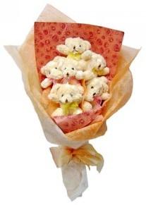 12 adet ayiciktan buket  Adana çiçek siparişi sitesi