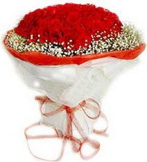 Adana çiçekçiler  41 adet kirmizi gül buketi