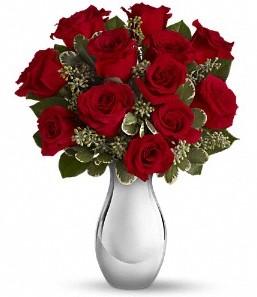 Adana çiçek siparişi vermek   vazo içerisinde 11 adet kırmızı gül tanzimi