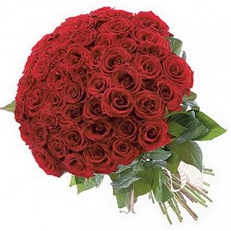 Adana güvenli kaliteli hızlı çiçek  101 adet kırmızı gül buketi modeli