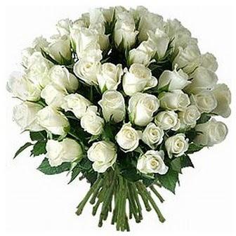 Adana çiçek servisi , çiçekçi adresleri  33 adet beyaz gül buketi