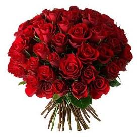 Adana çiçek , çiçekçi , çiçekçilik  33 adet kırmızı gül buketi