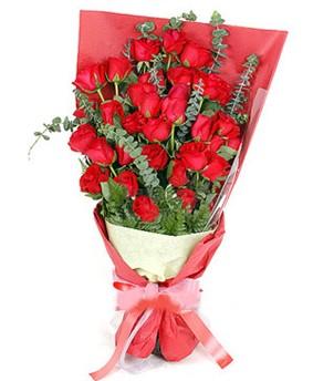 Adana çiçek gönderme  37 adet kırmızı güllerden buket