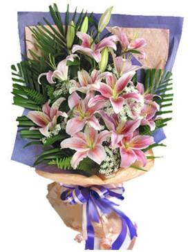 7 dal kazablankadan görsel buket  Adana kaliteli taze ve ucuz çiçekler