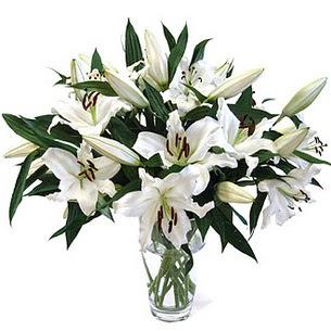 Adana çiçekçi telefonları  3 dal görsel casablanca vazo tanzimi