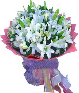 7 dal cazablanca görsel buketi  Adana çiçekçi mağazası