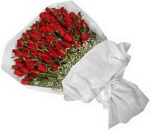 Adana İnternetten çiçek siparişi  51 adet kırmızı gül buket çiçeği