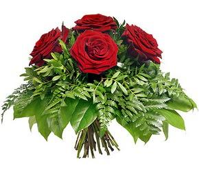 Adana çiçek mağazası , çiçekçi adresleri  5 adet kırmızı gülden buket