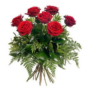 Adana online çiçek gönderme sipariş  7 adet kırmızı gülden buket