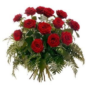 Adana internetten çiçek satışı  15 adet kırmızı gülden buket