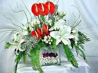 Adana çiçek mağazası , çiçekçi adresleri  Anthurim Kazablanka  gül