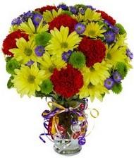 En güzel hediye karışık mevsim çiçeği  Adana hediye çiçek yolla