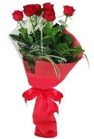 Çiçek yolla sitesinden 7 adet kırmızı gül  Adana internetten çiçek satışı