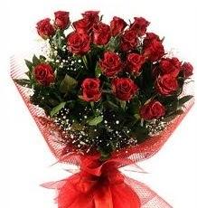 İlginç Hediye 21 Adet kırmızı gül  Adana internetten çiçek siparişi