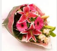 1 dal kazablanka ve mevsim çiçekleri  Adana internetten çiçek siparişi