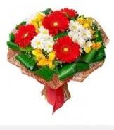 1 demet karışık buket  Adana hediye sevgilime hediye çiçek