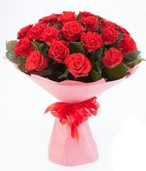15 adet kırmızı gülden buket tanzimi  Adana çiçek siparişi sitesi