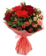 karışık mevsim buketi  Adana internetten çiçek siparişi