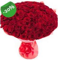 Özel mi Özel buket 101 adet kırmızı gül  Adana anneler günü çiçek yolla