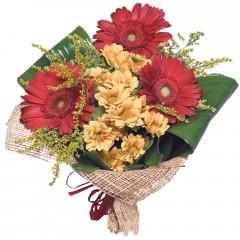 karışık mevsim buketi  Adana çiçekçi mağazası