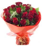 12 adet görsel bir buket tanzimi  Adana çiçek siparişi vermek