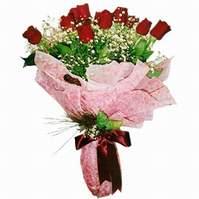 Adana çiçek siparişi sitesi  12 adet kirmizi kalite gül
