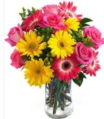 Vazoda Karışık mevsim çiçeği  Adana çiçekçi mağazası