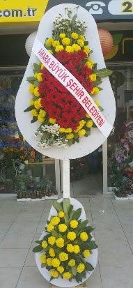 Çift katlı düğün nikah açılış çiçek modeli  Adana çiçekçi mağazası