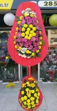 Çift katlı düğün nikah açılış çiçek modeli  Adana online çiçek gönderme sipariş