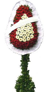 Çift katlı düğün nikah açılış çiçek modeli  Adana İnternetten çiçek siparişi