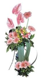 Adana güvenli kaliteli hızlı çiçek  Pembe Antoryum Harikalar Rüyasi