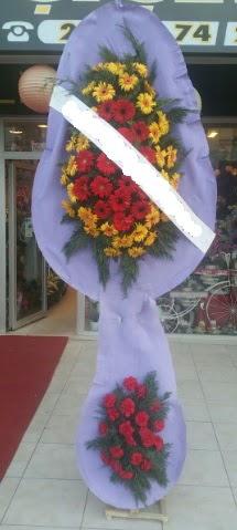 Çift katlı nikah düğüne çiçek modeli  Adana internetten çiçek siparişi