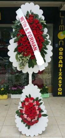 Çift katlı düğün nikah çiçeği modeli  Adana çiçek siparişi sitesi