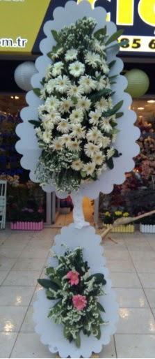 Çift katlı düğün nikah açılış çiçeği  Adana çiçekçi telefonları