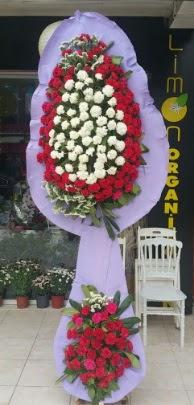 Çift katlı işyeri açılış çiçek modeli  Adana ucuz çiçek gönder