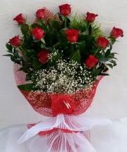 11 adet kırmızı gülden görsel çiçek  Adana çiçek satışı