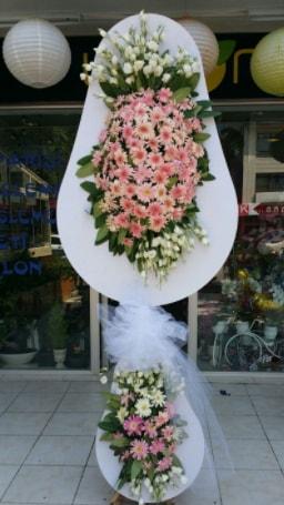 Çift katlı özel şahane sepet çiçeği  Adana çiçekçi telefonları
