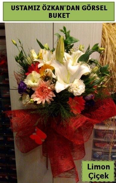 Karışık görsel mevsim çiçeği  Adana ucuz çiçek gönder