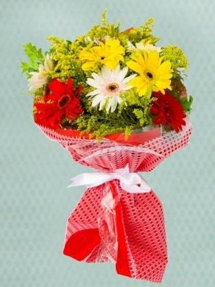 Karışık Gelbera Buketi  Adana çiçek siparişi sitesi