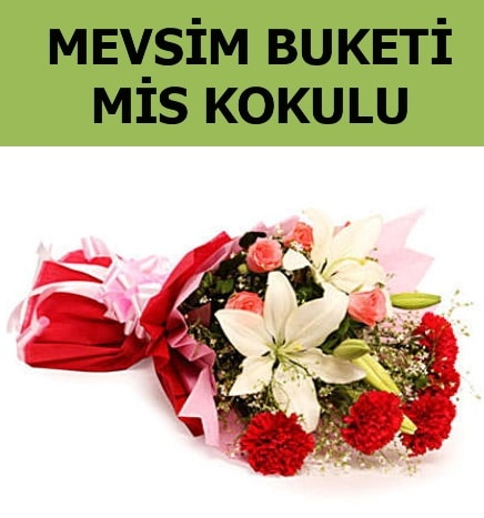 Karışık mevsim buketi mis kokulu bahar  Adana ucuz çiçek gönder