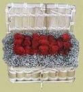 Adana cicekciler , cicek siparisi  Sandikta 11 adet güller - sevdiklerinize en ideal seçim